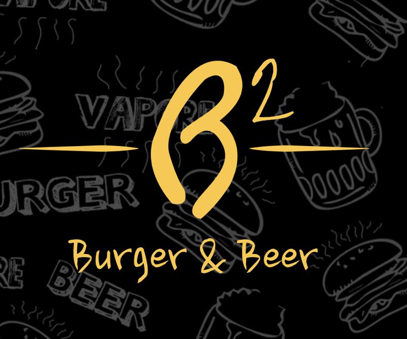 B2 burger and beer